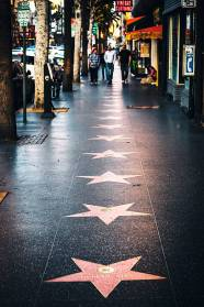 Hollywood Walk of Fame.