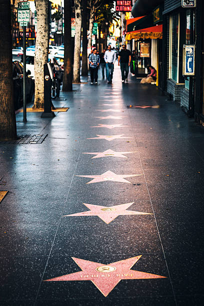 Hollywood Walk of Fame.